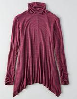 American Eagle AEO Soft & Sexy Turtleneck T-Shirt