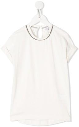 BRUNELLO CUCINELLI KIDS short sleeved T-shirt