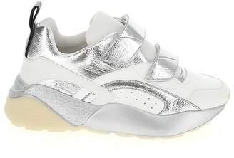 Stella McCartney Eclypse Logo Pull Tab Velcro Strap Sneakers