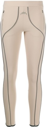 A-Cold-Wall* A Cold Wall* piping logo leggings