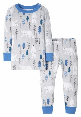 Moon and Back by Hanna Andersson Baby Organic Holiday Family Matching 2 Piece Pajama Set