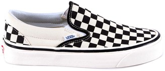 Vans Classic 98 Checkered Detail Slip On Sneakers