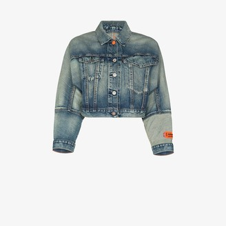 Heron Preston X Levi's cropped denim jacket