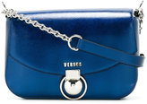 Versus logo plaque satchel - women - Cotton/Calf Leather/Metal (Other) - One Size