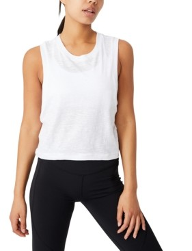 Cotton On Women's All Things Fabulous Cropped Muscle Tank