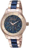 Invicta Women's 'Angel' Quartz Stainless Steel Casual Watch, Color:Two Tone (Model: 24662)