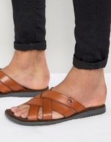 Base London Leather Sandals