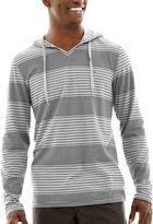 Vans Skillz Nep Stripe Long-Sleeve Hooded Knit Shirt