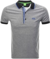 BOSS GREEN Paul 4 Jersey Polo T Shirt Black