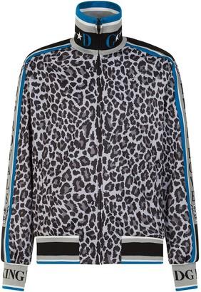 Dolce & Gabbana Leopard-Print Sweatshirt