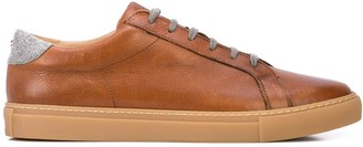 Eleventy Leather Sneakers