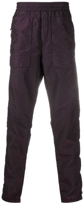 Stone Island Textured Straight Leg Trousers