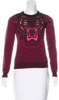 Kenzo Wool Embroidered Sweater