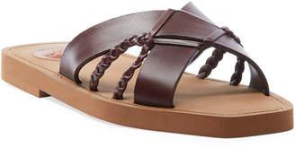 Chloé Woody Slide Flat Sandals
