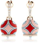 Chantecler Maiolica Rose Gold Earrings