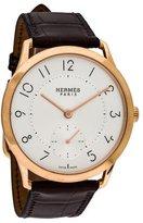 Hermes Slim d'Hermes GM Watch