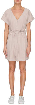 Nude Lucy Piper Button Front Dress