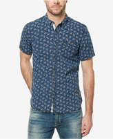 Buffalo David Bitton Men's Floral Denim Shirt