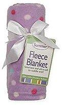 Summer Infant Infant Girl's Fleece Blanket - Polka Dot