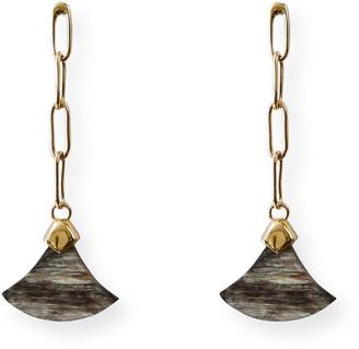 Akola Norren Horn Drop Earrings