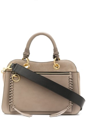 See by Chloe Tilda whipstitched tote bag