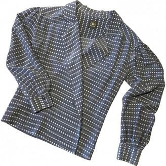 Trussardi Grey Silk Top for Women