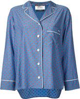 Muveil polka dot blouse - women - Cupro/Cotton - 36