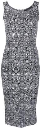 Antonino Valenti Leopard-Print Fitted Dress