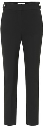 Veronica Beard Gamila stretch-crepe slim pants