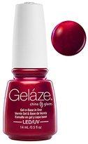 China Glaze Gelaze Nail Polish,0.5 Fluid Ounce