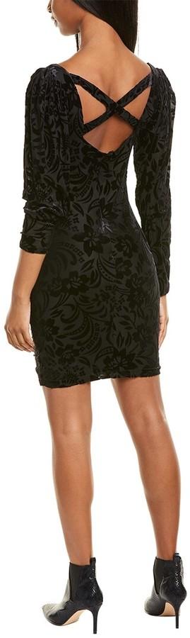 Thumbnail for your product : Nicole Miller Floral Burnout Sheath Dress