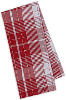 DESIGN IMPORTS Design Imports Red Plaid Set of 4 Kitchen Towels