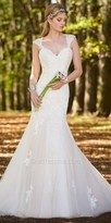 Camille La Vie Lace Cap Sleeve Wedding Dress