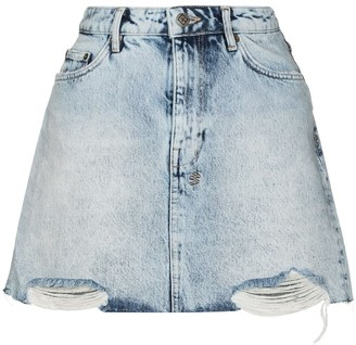Ksubi Denim Mini Skirt
