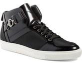 Versace Buckle High Top Sneaker (Men)