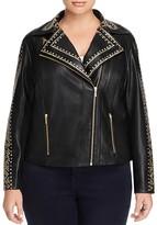 Tart Plus Mannie Faux Leather Studded Jacket