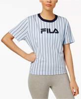 Fila Lonnie Cotton Pinstriped T-Shirt