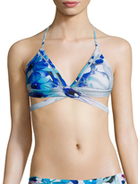 6 Shore Road La Playa Wrap Bikini Top