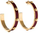 Louis Vuitton Gimme A Clue Hoop Earrings