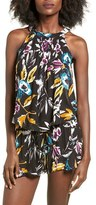 Band of Gypsies Women's Floral Print Halter Top