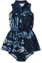 Ralph Lauren Girl Patchwork Polo Dress & Bloomer