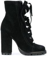Schutz lace-up platform boots