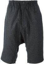 Y-3 drop-crotch shorts