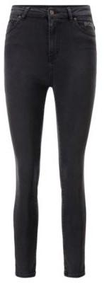 HUGO BOSS Skinny-fit jeans in mid-grey power-stretch denim