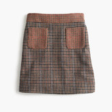J.Crew Pre-order Mini skirt in mixed houndstooth
