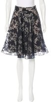 Reiss Floral A-Line Skirt w/ Tags