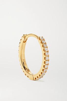 Maria Tash Eternity 9.5mm 18-karat Gold Diamond Hoop Earring
