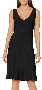 Herve Leger Deep-v-Neck Dress