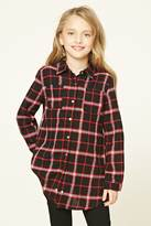 Forever 21 FOREVER 21+ Girls Plaid Tunic (Kids)