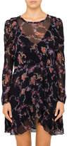 IRO Loxie L/S Printed Mini Dress